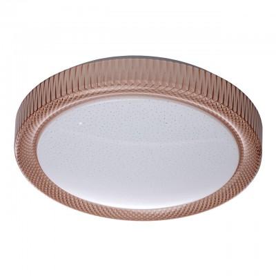 674014001 Mw light СветильникПотолочные<br><br><br>Тип лампы: LED<br>MAX мощность ламп, Вт: 30<br>Диаметр, мм мм: 390<br>Высота, мм: 100