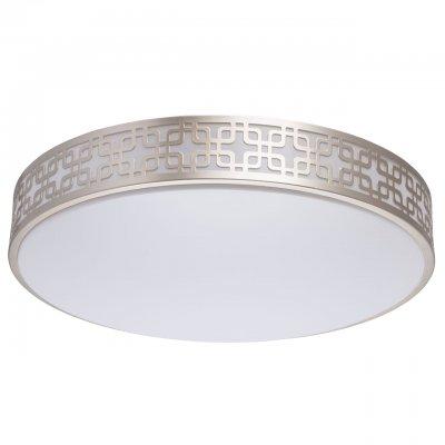 674015501 Mw light СветильникПотолочные<br><br><br>S освещ. до, м2: 16<br>Цветовая t, К: 3000/6000<br>Тип лампы: LED-светодиодная<br>Тип цоколя: LED<br>Количество ламп: 1<br>Диаметр, мм мм: 470<br>Высота, мм: 80<br>MAX мощность ламп, Вт: 40