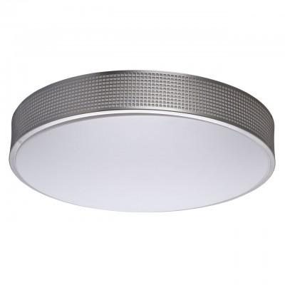 674015801 Mw light СветильникПотолочные<br><br><br>Установка на натяжной потолок: Да<br>S освещ. до, м2: 17<br>Тип лампы: LED<br>MAX мощность ламп, Вт: 40<br>Диаметр, мм мм: 470<br>Высота, мм: 70