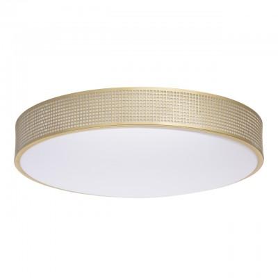 674015901 Mw light СветильникПотолочные<br><br><br>Установка на натяжной потолок: Да<br>S освещ. до, м2: 17<br>Тип лампы: LED<br>MAX мощность ламп, Вт: 40<br>Диаметр, мм мм: 470<br>Высота, мм: 70