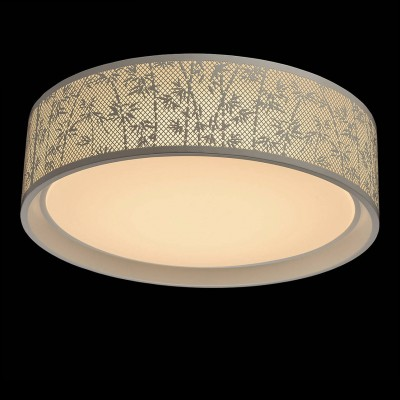 Mw light 674016101 СветильникПотолочные<br><br><br>Установка на натяжной потолок: Да<br>S освещ. до, м2: 20<br>Цветовая t, К: 2700<br>Тип лампы: LED<br>Тип цоколя: LED<br>MAX мощность ламп, Вт: 50<br>Диаметр, мм мм: 500<br>Высота, мм: 140