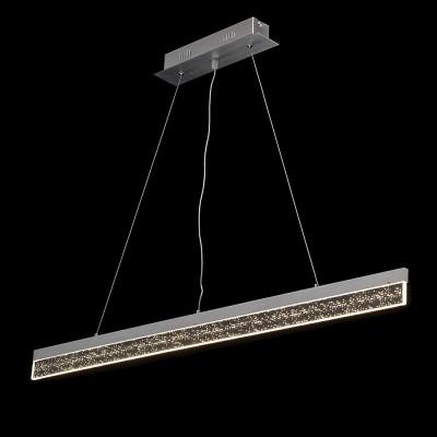 Mw light 675012401 СветильникСветодиодные<br><br><br>Тип лампы: LED<br>Ширина, мм: 70<br>Длина, мм: 1000<br>Высота, мм: 150 - 1050<br>MAX мощность ламп, Вт: 24