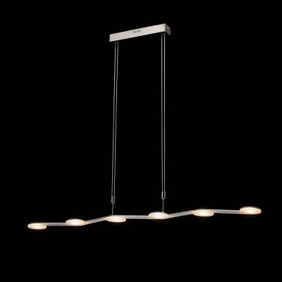 Mw light 675013106 СветильникДлинные 4+<br><br><br>Цветовая t, К: 3000<br>Тип лампы: LED<br>Тип цоколя: LED<br>Ширина, мм: 90<br>Длина, мм: 1140<br>Высота, мм: 100 - 1650<br>MAX мощность ламп, Вт: 5