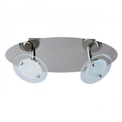 Светильник настенный бра Mw light 678021302 ГраффитиДвойные<br>Описание модели 678021302: Люстры и бра из коллекции «Граффити» поражают футуристическим дизайном с продуманным исполнением. Они идеально впишутся в интерьер и подчеркнут его ультрасовременный стиль. Уникальные плафоны с системой спотов ориентированы в разных плоскостях, что позволяет достигнуть высоких параметров освещенности. Тонированные стеклянные вставки, декорирующие светодиоды, создают впечатление матовой глубины. Стальное основание светильника цвета хрома дополнено зеркальным эффектом. Широкая семья позволяет комплексно осветить пространство.<br><br>S освещ. до, м2: 4<br>Тип лампы: LED - светодиодная<br>Количество ламп: 2<br>Ширина, мм: 400<br>MAX мощность ламп, Вт: 5<br>Длина, мм: 160<br>Высота, мм: 120