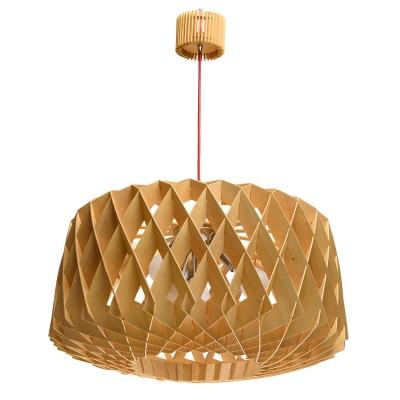 Люстра Mw light 679010104 БорнеоПлетеные из ротанга<br>Описание модели 679010104: Для тех, кто ценит оригинальность и творческий подход, экологичность и натуральность идеально подойдет люстра из коллекции «Борнео». Светильник в Эко-стиле выполнен из древесных пластин ручной работы. Контрастные провода сочного оттенка оживляют композицию. По своему желанию, вы можете раскрасить и оформить деревянные элементы на свой вкус, что позволит придать вашей люстре  эксклюзивный статус.  Рекомендуемая площадь освещения порядка 4 кв.м.<br><br>Установка на натяжной потолок: Да<br>S освещ. до, м2: 8<br>Крепление: Планка<br>Тип лампы: Накаливания / энергосбережения / светодиодная<br>Тип цоколя: E27<br>Цвет арматуры: серебристый<br>Количество ламп: 4<br>Ширина, мм: 600<br>Диаметр, мм мм: 600<br>Длина, мм: 600<br>Высота, мм: 880<br>MAX мощность ламп, Вт: 40<br>Общая мощность, Вт: 160