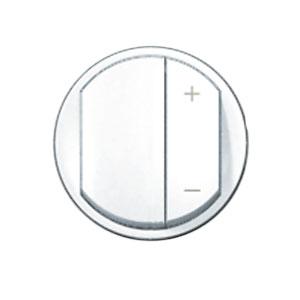 Накладка для светорегулятора нажимного белый Celiane (Legrand) 68031Белый <br><br><br>Оттенок (цвет): Белый