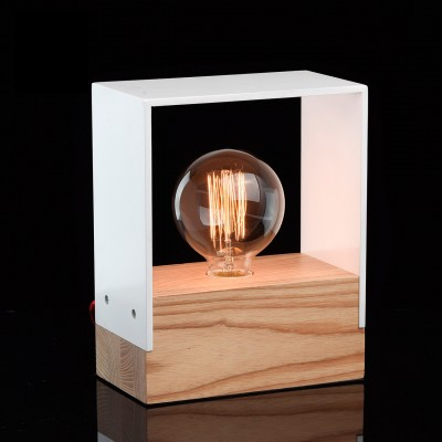 Настольная лампа Mw light 681030101 ИдеяСовременные<br>Описание модели 681030101: Оригинальный светильник из коллекции «Идея» отлично украсит современный интерьер. Основание выполнено из натурального ясеня и гармонично сочетается с декоративным плафоном из МДФ, окрашенный в белый или чёрный цвет – на выбор. Разбавляет и оживляет светильник декоративный шнур в красной текстильной оплетке. Оригинальный и минималистичный дизайн для любителей нестандартных световых акцентов в интерьере.<br><br>S освещ. до, м2: 2<br>Тип лампы: накаливания / энергосбережения / LED-светодиодная<br>Тип цоколя: E27<br>Количество ламп: 1<br>Ширина, мм: 110<br>MAX мощность ламп, Вт: 40<br>Длина, мм: 200<br>Высота, мм: 250