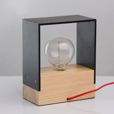 Настольная лампа Mw light 681030201 ИдеяХай тек<br>Описание модели 681030201: Оригинальный светильник из коллекции «Идея» отлично украсит современный интерьер. Основание выполнено из натурального ясеня и гармонично сочетается с декоративным плафоном из МДФ, окрашенный в белый или чёрный цвет – на выбор. Разбавляет и оживляет светильник декоративный шнур в красной текстильной оплетке. Оригинальный и минималистичный дизайн для любителей нестандартных световых акцентов в интерьере.<br><br>S освещ. до, м2: 2<br>Тип лампы: накаливания / энергосбережения / LED-светодиодная<br>Тип цоколя: E27<br>Количество ламп: 1<br>Ширина, мм: 110<br>Длина, мм: 200<br>Высота, мм: 250<br>MAX мощность ламп, Вт: 40