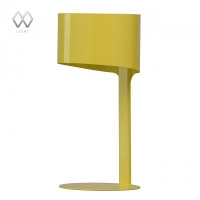 Настольная лампа Mw light 681030601 ИдеяХай тек<br>Описание модели 681030601: Стильные настольные светильники из коллекции «Идея», выполненные в ярких трендовых оттенках, заметно освежат и разнообразят интерьер. Лампа цельнометаллическая: основание, ножка и плафон выполнены из цельного металла. Светильник обеспечивает мягкий рассеянный свет и  идеально подходит для зонального освещения и создания акцентов в интерьере.<br><br>S освещ. до, м2: 2<br>Ширина, мм: 150<br>Длина, мм: 150<br>Высота, мм: 330