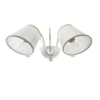 Lightstar ESEDRA 682626 СветильникКлассика<br><br><br>Тип цоколя: E27<br>Количество ламп: 2<br>Ширина, мм: 420<br>MAX мощность ламп, Вт: 40<br>Расстояние от стены, мм: 250<br>Высота, мм: 160