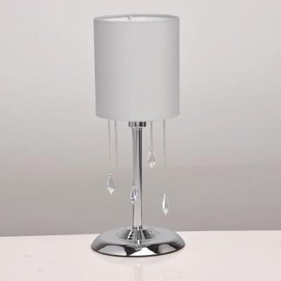 Mw light 684030501 Светильник настольныйСовременные<br><br><br>Тип лампы: Накаливания / энергосбережения / светодиодная<br>Тип цоколя: E14<br>Количество ламп: 1<br>MAX мощность ламп, Вт: 40<br>Диаметр, мм мм: 170<br>Высота, мм: 400<br>Цвет арматуры: серебристый