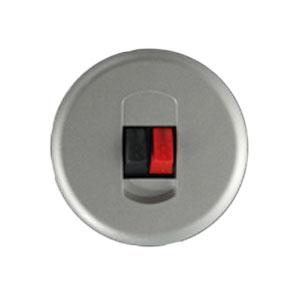 Накладка для розетки акустической титан Celiane (Legrand) 68511Титан <br><br><br>Оттенок (цвет): серебристый