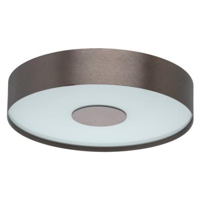 Светильник Mw light 688010701современные потолочные люстры модерн<br>Основание выполнено из сплава алюминия, обработано по технологии браширования и окрашено в коричневый цвет. Светодиодный источник света типа SMD-board закрыт матовым стеклом.<br><br>S освещ. до, м2: 5.51<br>Тип лампы: LED<br>Тип цоколя: LED<br>Цвет арматуры: коричневый<br>Количество ламп: 32<br>Диаметр, мм мм: 300<br>Высота, мм: 85<br>Поверхность арматуры: матовая<br>Оттенок (цвет): коричневый<br>MAX мощность ламп, Вт: 0.5