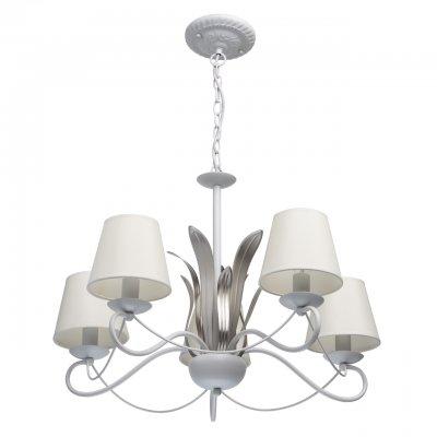 Светильник Mw-light 689010305люстры флористика подвесные<br><br><br>S освещ. до, м2: 10<br>Тип лампы: накаливания / энергосбережения / LED-светодиодная<br>Тип цоколя: E14<br>Цвет арматуры: белый<br>Количество ламп: 5<br>Диаметр, мм мм: 680<br>Высота, мм: 780<br>MAX мощность ламп, Вт: 40