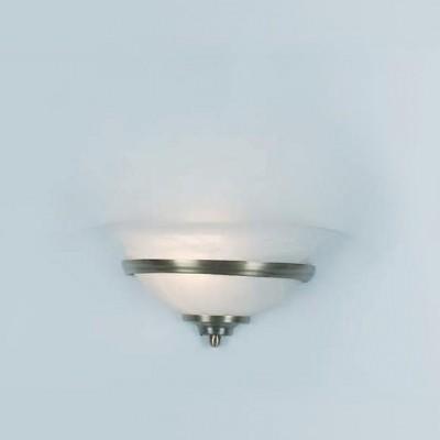 Светильник бра Globo 6897 ToledoНакладные<br><br><br>S освещ. до, м2: 4<br>Тип лампы: накаливания / энергосбережения / LED-светодиодная<br>Тип цоколя: E27<br>Цвет арматуры: серый<br>Количество ламп: 1<br>Ширина, мм: 310<br>Длина, мм: 310<br>Высота, мм: 160<br>MAX мощность ламп, Вт: 60