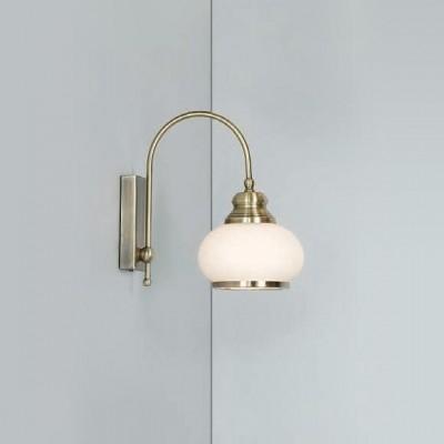 Светильник бра Globo 6900-1W NostalgikaРустика<br><br><br>S освещ. до, м2: 2<br>Тип лампы: накаливания / энергосбережения / LED-светодиодная<br>Тип цоколя: E14<br>Количество ламп: 1<br>Ширина, мм: 230<br>MAX мощность ламп, Вт: 40<br>Высота, мм: 230<br>Цвет арматуры: бронзовый