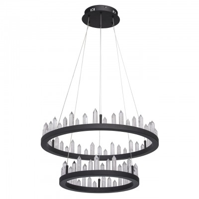 Светильник RegenBogen 690010302Подвесные<br><br><br>Цветовая t, К: 4000<br>Тип лампы: LED<br>Цвет арматуры: черный<br>Диаметр, мм мм: 600<br>Высота полная, мм: 1600<br>Высота, мм: 100<br>MAX мощность ламп, Вт: 71