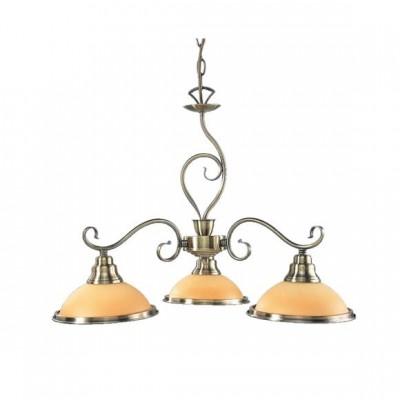 Люстра Globo 6905-3 SassariПодвесные<br><br><br>Установка на натяжной потолок: Да<br>S освещ. до, м2: 12<br>Крепление: Крюк<br>Тип товара: Светильник подвесной<br>Тип лампы: накаливания / энергосбережения / LED-светодиодная<br>Тип цоколя: E27<br>Количество ламп: 3<br>Ширина, мм: 630<br>MAX мощность ламп, Вт: 60<br>Диаметр, мм мм: 570<br>Длина, мм: 450<br>Высота, мм: 1360<br>Цвет арматуры: бронзовый