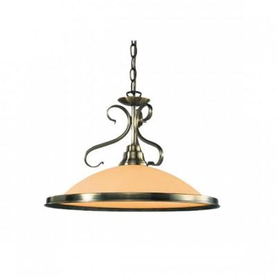 Светильник Globo 6905 SassariОдиночные<br><br><br>S освещ. до, м2: 4<br>Тип товара: Светильник подвесной<br>Тип лампы: накаливания / энергосбережения / LED-светодиодная<br>Тип цоколя: E27<br>Количество ламп: 1<br>Ширина, мм: 300<br>MAX мощность ламп, Вт: 60<br>Диаметр, мм мм: 410<br>Высота, мм: 1250<br>Цвет арматуры: бронзовый