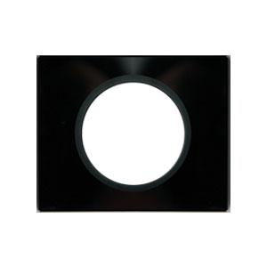 Рамка 1 пост смальта графит Celiane (Legrand) 69301Смальта<br><br><br>Оттенок (цвет): черный