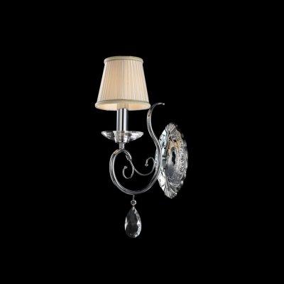 Lightstar RICERCO 693614 Светильник настенный браКлассика<br><br><br>S освещ. до, м2: 2<br>Тип лампы: накаливания / энергосбережения / LED-светодиодная<br>Тип цоколя: E14<br>Количество ламп: 1<br>Ширина, мм: 140<br>MAX мощность ламп, Вт: 40<br>Размеры: H440, отступ 260<br>Расстояние от стены, мм: 250<br>Высота, мм: 450<br>Цвет арматуры: серебристый