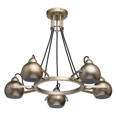 Светильник Mw-light 696010105Подвесные<br><br><br>S освещ. до, м2: 10<br>Тип лампы: накаливания / энергосбережения / LED-светодиодная<br>Тип цоколя: E14<br>Количество ламп: 5<br>Диаметр, мм мм: 660<br>Высота, мм: 540<br>MAX мощность ламп, Вт: 40