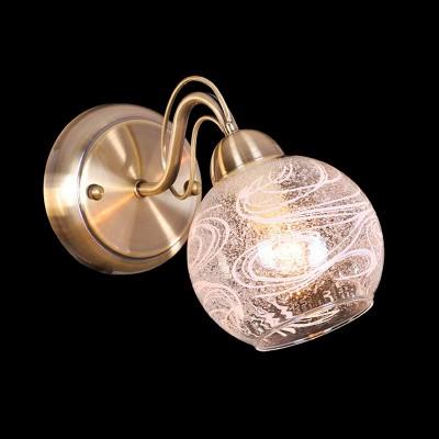 Светильник Евросвет 70002/1 античная бронзаСовременные<br><br><br>S освещ. до, м2: 4<br>Тип лампы: накаливания / энергосбережения / LED-светодиодная<br>Тип цоколя: E14<br>Количество ламп: 1<br>Ширина, мм: 150<br>MAX мощность ламп, Вт: 60<br>Расстояние от стены, мм: 280<br>Высота, мм: 200<br>Цвет арматуры: бронзовый