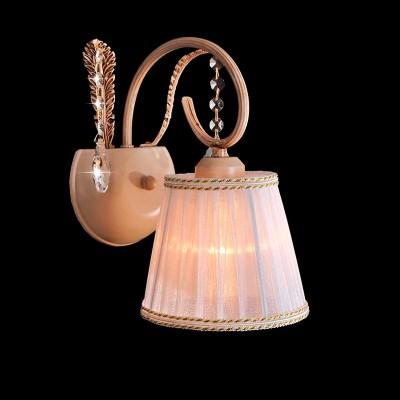 Светильник бра Евросвет 70003/1 бежевыйКлассика<br><br><br>S освещ. до, м2: 2<br>Тип лампы: накаливания / энергосбережения / LED-светодиодная<br>Тип цоколя: E27<br>Количество ламп: 1<br>Ширина, мм: 150<br>MAX мощность ламп, Вт: 40<br>Расстояние от стены, мм: 200<br>Высота, мм: 280<br>Оттенок (цвет): бежевый<br>Цвет арматуры: бежевый