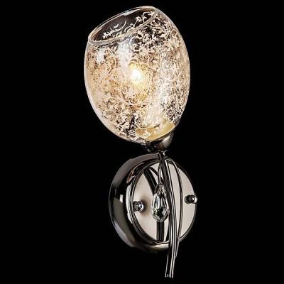 Светильник Евросвет 70028/1 черный жемчугФлористика<br><br><br>Тип лампы: Накаливания / энергосбережения / светодиодная<br>Тип цоколя: E14<br>Количество ламп: 1<br>Ширина, мм: 120<br>MAX мощность ламп, Вт: 60<br>Длина, мм: 290<br>Высота, мм: 250<br>Цвет арматуры: Черный