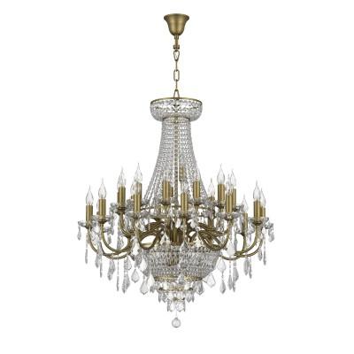 Люстра Lightstar 700291 CLASSICПодвесные<br><br><br>S освещ. до, м2: 58<br>Тип лампы: Накаливания / энергосбережения / светодиодная<br>Тип цоколя: E14<br>Цвет арматуры: бронзовый<br>Количество ламп: 29<br>Диаметр, мм мм: 890<br>Высота, мм: 1400 - 2400<br>MAX мощность ламп, Вт: 40