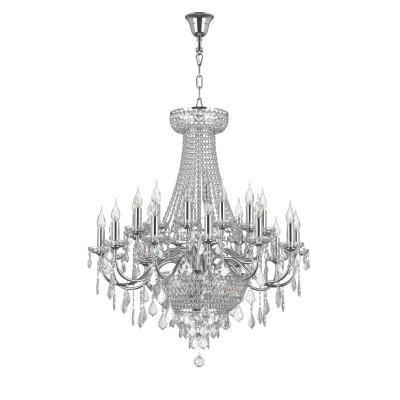 Люстра Lightstar 700294 CLASSICПодвесные<br><br><br>S освещ. до, м2: 58<br>Тип лампы: Накаливания / энергосбережения / светодиодная<br>Тип цоколя: E14<br>Цвет арматуры: серебристый<br>Количество ламп: 29<br>Диаметр, мм мм: 890<br>Высота, мм: 1400 - 2400<br>MAX мощность ламп, Вт: 40
