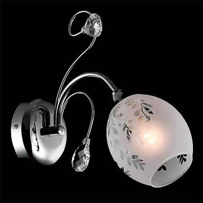 Евросвет 70034/1 хромКлассические<br><br><br>Тип лампы: Накаливания / энергосбережения / светодиодная<br>Тип цоколя: E14<br>Количество ламп: 1<br>Ширина, мм: 125<br>MAX мощность ламп, Вт: 60<br>Длина, мм: 250<br>Высота, мм: 270