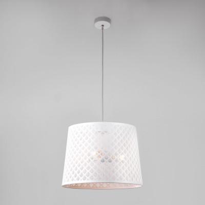 Светильник подвесной Евросвет 70076/3 белый фото