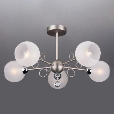 Светильник Евросвет 70095/5 сатин-никель фото