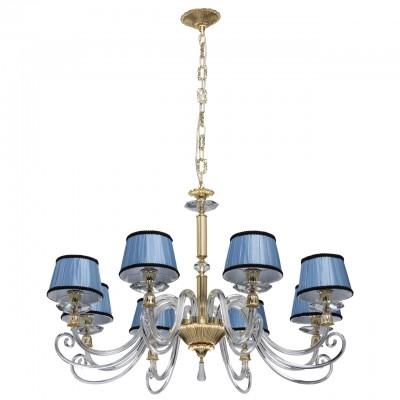 Светильник Chiaro 701010408Подвесные<br><br><br>Тип лампы: Накаливания / энергосбережения / светодиодная<br>Тип цоколя: E14<br>Количество ламп: 8<br>Диаметр, мм мм: 960<br>Высота, мм: 1180<br>MAX мощность ламп, Вт: 40