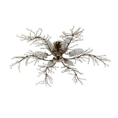 Люстра ветвистая Colosseo 70122/6C DIONISIAПотолочные<br>Люстра в виде веток. распушенных по всему радиусу.<br><br>Установка на натяжной потолок: Да<br>S освещ. до, м2: 16<br>Крепление: Планка<br>Тип лампы: накаливания / энергосбережения / LED-светодиодная<br>Тип цоколя: E14<br>Количество ламп: 6<br>MAX мощность ламп, Вт: 40<br>Диаметр, мм мм: 800<br>Высота, мм: 250<br>Цвет арматуры: бронзовый
