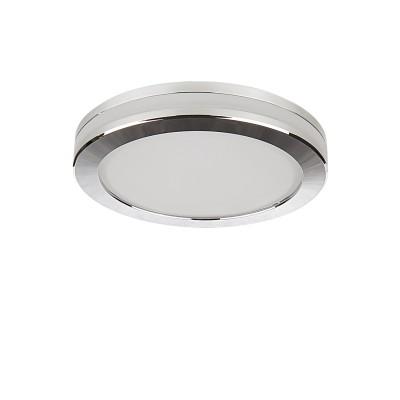 Светильник Lightstar 70262 FORTOКруглые<br><br><br>Цветовая t, К: 3000<br>Тип лампы: LED<br>Диаметр, мм мм: 95<br>Глубина, мм: 40<br>Диаметр врезного отверстия, мм: 65<br>Цвет арматуры: серебристый