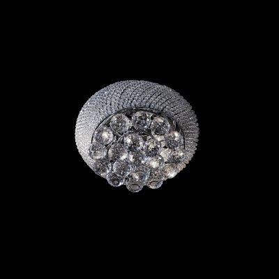 Люстра Lightstar 704034 MONILEхрустальные потолочные люстры<br>Коллекция Monile богата на роскошь и хрусталь. Металлическое основание каждого светильника покрыто антикоррозионным покрытием и имеет глянцевый металлический отлив серебра или золота. Всякий светильник этой коллекции украшен сотнями хрустальных бусин разным размеров, что создает ощущение ослепительного бриллиантового блеска каждый раз, когда лучи света касаются поверхности светильника. <br>Стильная люстра Lightstar 704034 станет украшением любого дома. Эта модель от известного производителя не оставит равнодушным ценителей красивых и оригинальных предметов интерьера. Люстра Lightstar 704034 обеспечит равномерное распределение света по всей комнате. При выборе обратите внимание на характеристики, позволяющие приобрести наиболее подходящую модель. <br>Купить понравившуюся люстру по доступной цене Вы можете в интернет-магазине «Светодом».<br><br>Установка на натяжной потолок: Ограничено<br>S освещ. до, м2: 12<br>Крепление: Планка<br>Тип цоколя: E14<br>Цвет арматуры: серебристый<br>Количество ламп: 3<br>Диаметр, мм мм: 300<br>Размеры: D 300 H 1700<br>Высота, мм: 170<br>MAX мощность ламп, Вт: 40