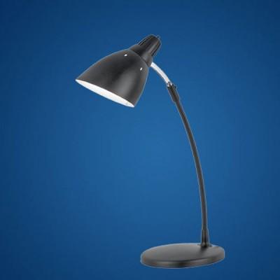 Eglo TOP DESK 7059 Офисная настольная лампаОфисные<br>Австрийское качество модели светильника Eglo 7059 не оставит равнодушным каждого купившего! Основание сталь с защитным/декоративным покрытием черного цвета, Класс изоляции 2 (плоская вилка, двойная изоляция от вилки до лампы), отдельный выключатель, IP 20, освещенность 860 lm Н=470,L=305,1x28W GU10.<br><br>S освещ. до, м2: 4<br>Тип лампы: накал-я - энергосбер-я<br>Тип цоколя: E27<br>Цвет арматуры: черный<br>Количество ламп: 1<br>Размеры основания, мм: 145 / 175<br>Длина, мм: 305<br>Высота, мм: 470<br>MAX мощность ламп, Вт: 2<br>Общая мощность, Вт: 1X60W