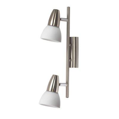 Светильник спот Colosseo 70609/2 Garda 1Двойные<br>Светильники-споты – это оригинальные изделия с современным дизайном. Они позволяют не ограничивать свою фантазию при выборе освещения для интерьера. Такие модели обеспечивают достаточно качественный свет. Благодаря компактным размерам Вы можете использовать несколько спотов для одного помещения.  Интернет-магазин «Светодом» предлагает необычный светильник-спот Colosseo 70609/2 по привлекательной цене. Эта модель станет отличным дополнением к люстре, выполненной в том же стиле. Перед оформлением заказа изучите характеристики изделия.  Купить светильник-спот Colosseo 70609/2 в нашем онлайн-магазине Вы можете либо с помощью формы на сайте, либо по указанным выше телефонам. Обратите внимание, что мы предлагаем доставку не только по Москве и Екатеринбургу, но и всем остальным российским городам.<br><br>S освещ. до, м2: 5<br>Крепление: планка<br>Тип лампы: накал-я - энергосбер-я<br>Тип цоколя: E14(R50)<br>Количество ламп: 2<br>Ширина, мм: 350<br>MAX мощность ламп, Вт: 40<br>Расстояние от стены, мм: 200<br>Высота, мм: 80<br>Цвет арматуры: серый