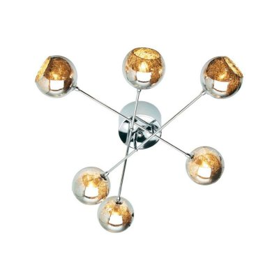 Лампа потолочная Brilliant G70706/20 JewelПотолочные<br>Зачастую мы ищем идеальное освещение для своего дома и уделяем этому достаточно много времени. Так, например, если нам нужен светильник с количеством ламп - 6 и цвет плафонов должен быть - коричневый, а материал плафонов только стекло! То нам, как вариант, подойдет модель - лампа потолочная Brilliant G70706/20.<br><br>Установка на натяжной потолок: Ограничено<br>S освещ. до, м2: 16<br>Крепление: Планка<br>Тип лампы: галогенная / LED-светодиодная<br>Тип цоколя: G9<br>Количество ламп: 6<br>MAX мощность ламп, Вт: 42<br>Диаметр, мм мм: 640<br>Высота, мм: 160<br>Цвет арматуры: серебристый