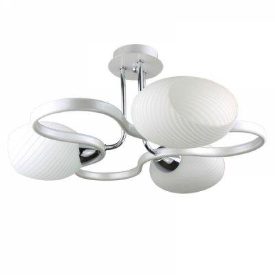 Люстра Colosseo 70820/3CПотолочные<br><br><br>Установка на натяжной потолок: Да<br>S освещ. до, м2: 12<br>Крепление: Планка<br>Тип товара: Люстра<br>Тип лампы: накаливания / энергосбережения / LED-светодиодная<br>Тип цоколя: E27<br>Количество ламп: 3<br>MAX мощность ламп, Вт: 60<br>Диаметр, мм мм: 460<br>Высота, мм: 250