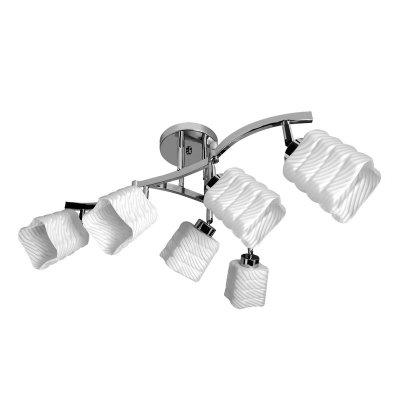 Люстра Colosseo 70841/6CПоворотные<br>Компания «Светодом» предлагает широкий ассортимент люстр от известных производителей. Представленные в нашем каталоге товары выполнены из современных материалов и обладают отличным качеством. Благодаря широкому ассортименту Вы сможете найти у нас люстру под любой интерьер. Мы предлагаем как классические варианты, так и современные модели, отличающиеся лаконичностью и простотой форм.  Стильная люстра Colosseo 70841/6C станет украшением любого дома. Эта модель от известного производителя не оставит равнодушным ценителей красивых и оригинальных предметов интерьера. Люстра Colosseo 70841/6C обеспечит равномерное распределение света по всей комнате. При выборе обратите внимание на характеристики, позволяющие приобрести наиболее подходящую модель. Купить понравившуюся люстру по доступной цене Вы можете в интернет-магазине «Светодом».<br><br>Установка на натяжной потолок: Да<br>S освещ. до, м2: 24<br>Крепление: Планка<br>Тип лампы: накаливания / энергосбережения / LED-светодиодная<br>Тип цоколя: E27<br>Количество ламп: 6<br>Ширина, мм: 340<br>MAX мощность ламп, Вт: 60<br>Диаметр, мм мм: 600<br>Длина, мм: 600<br>Высота, мм: 340<br>Цвет арматуры: серебристый хром