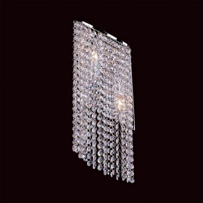 Lightstar NUVOLA 709624 Светильник настенный браХай-тек<br><br><br>S освещ. до, м2: 6<br>Крепление: настенное<br>Тип лампы: накаливания / энергосбережения / LED-светодиодная<br>Тип цоколя: E14<br>Цвет арматуры: серебристый<br>Количество ламп: 2<br>Ширина, мм: 190<br>Размеры: H 580 W 190 Выступ 160<br>Высота, мм: 550<br>Оттенок (цвет): белый<br>MAX мощность ламп, Вт: 40