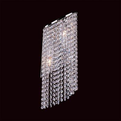 Lightstar NUVOLA 709634 Светильник настенный браХай-тек<br><br><br>S освещ. до, м2: 6<br>Тип лампы: накаливания / энергосбережения / LED-светодиодная<br>Тип цоколя: E14<br>Количество ламп: 2<br>Ширина, мм: 190<br>MAX мощность ламп, Вт: 40<br>Размеры: H 550 W x190 Выступ 140<br>Высота, мм: 550<br>Оттенок (цвет): белый<br>Цвет арматуры: серебристый