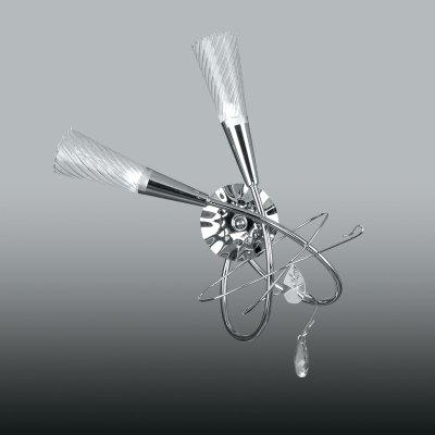 Lightstar AEREO 711623 Светильник настенный браМодерн<br><br><br>Тип лампы: галогенная/LED<br>Тип цоколя: G9<br>Количество ламп: 2<br>Ширина, мм: 300<br>MAX мощность ламп, Вт: 40<br>Расстояние от стены, мм: 160<br>Высота, мм: 500<br>Цвет арматуры: серебристый