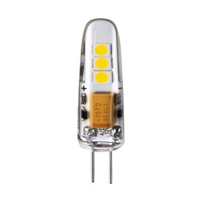 Лампа светодиодная Navigator 71 265 NLL-S-G4-2.5-12-3KЛампы g4<br><br><br>Цветовая t, К: 3000<br>Тип лампы: LED<br>Тип цоколя: G4<br>Диаметр, мм мм: 10<br>Высота, мм: 37<br>MAX мощность ламп, Вт: 2.5