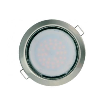 Светильник Navigator 71 280 NGX-R1-004-GX53(Сатин-хром)Светодиодные круглые светильники<br>Встраиваемые светильники – популярное осветительное оборудование, которое можно использовать в качестве основного источника или в дополнение к люстре. Они позволяют создать нужную атмосферу атмосферу и привнести в интерьер уют и комфорт. <br> Интернет-магазин «Светодом» предлагает стильный встраиваемый светильник Navigator 71 280 NGX-R1-004-GX53(Сатин-хром). Данная модель достаточно универсальна, поэтому подойдет практически под любой интерьер. Перед покупкой не забудьте ознакомиться с техническими параметрами, чтобы узнать тип цоколя, площадь освещения и другие важные характеристики. <br> Приобрести встраиваемый светильник Navigator 71 280 NGX-R1-004-GX53(Сатин-хром) в нашем онлайн-магазине Вы можете либо с помощью «Корзины», либо по контактным номерам. Мы развозим заказы по Москве, Екатеринбургу и остальным российским городам.<br><br>Тип лампы: LED<br>Тип цоколя: GX53<br>Цвет арматуры: серебристый<br>Диаметр, мм мм: 105<br>Диаметр врезного отверстия, мм: 90<br>Высота, мм: 40