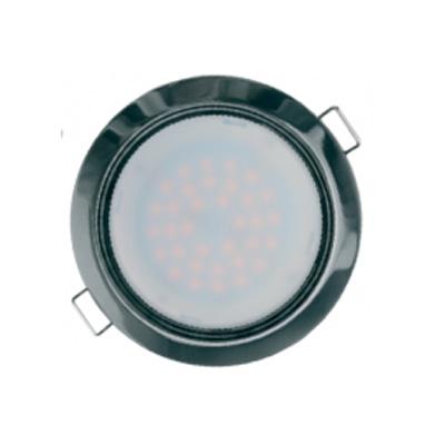 Светильник Navigator 71 281 NGX-R1-005-GX53(Черный хром)Светодиодные круглые светильники<br>Встраиваемые светильники – популярное осветительное оборудование, которое можно использовать в качестве основного источника или в дополнение к люстре. Они позволяют создать нужную атмосферу атмосферу и привнести в интерьер уют и комфорт.   Интернет-магазин «Светодом» предлагает стильный встраиваемый светильник Navigator 71 281 NGX-R1-005-GX53(Черный хром). Данная модель достаточно универсальна, поэтому подойдет практически под любой интерьер. Перед покупкой не забудьте ознакомиться с техническими параметрами, чтобы узнать тип цоколя, площадь освещения и другие важные характеристики.   Приобрести встраиваемый светильник Navigator 71 281 NGX-R1-005-GX53(Черный хром) в нашем онлайн-магазине Вы можете либо с помощью «Корзины», либо по контактным номерам. Мы развозим заказы по Москве, Екатеринбургу и остальным российским городам.<br><br>Тип лампы: LED<br>Тип цоколя: GX53<br>Цвет арматуры: серебристый<br>Диаметр, мм мм: 105<br>Диаметр врезного отверстия, мм: 90<br>Высота, мм: 40