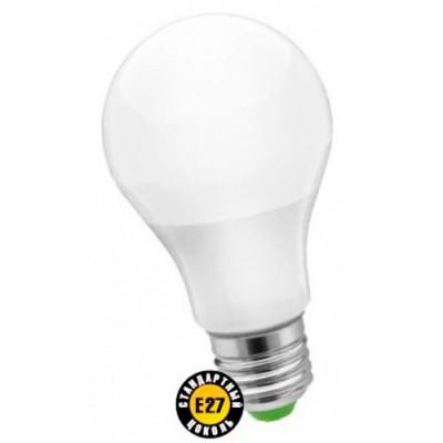 Лампа Navigator 71 296 NLL-A65-12-230-2.7K-E27(Standard)Светодиодные лампы LED с цоколем E27<br>В интернет-магазине «Светодом» можно купить не только люстры и светильники, но и лампочки. В нашем каталоге представлены светодиодные, галогенные, энергосберегающие модели и лампы накаливания. В ассортименте имеются изделия разной мощности, поэтому у нас Вы сможете приобрести все необходимое для освещения.   Лампа Navigator 71 296 NLL-A65-12-230-2.7K-E27(Standard) обеспечит отличное качество освещения. При покупке ознакомьтесь с параметрами в разделе «Характеристики», чтобы не ошибиться в выборе. Там же указано, для каких осветительных приборов Вы можете использовать лампу Navigator 71 296 NLL-A65-12-230-2.7K-E27(Standard)Navigator 71 296 NLL-A65-12-230-2.7K-E27(Standard).   Для оформления покупки воспользуйтесь «Корзиной». При наличии вопросов Вы можете позвонить нашим менеджерам по одному из контактных номеров. Мы доставляем заказы в Москву, Екатеринбург и другие города России.<br><br>Цветовая t, К: CW - холодный белый 4000 К<br>Тип лампы: LED - светодиодная<br>Тип цоколя: E27<br>Диаметр, мм мм: 65<br>Длина, мм: 125<br>MAX мощность ламп, Вт: 12